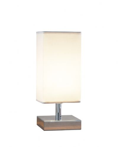 Drayton Polished Chrome Touch Table Lamp TXDRA4050-17